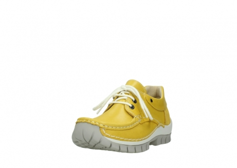 wolky chaussures a lacets 04701 fly 70900 cuir jaune_21