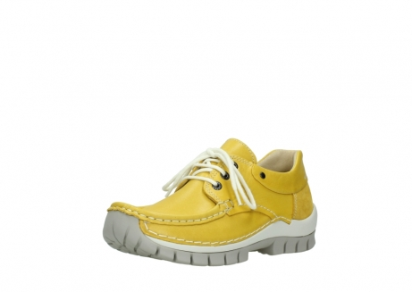 wolky chaussures a lacets 04701 fly 70900 cuir jaune_22
