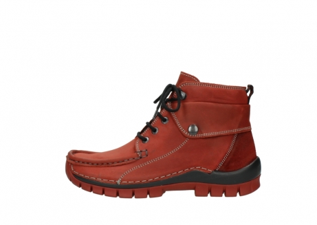 wolky lace up boots 04725 jump winter 50540 winter red oiled leather_1