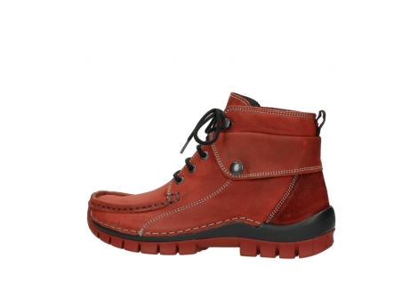 wolky bottines a lacets 04725 jump winter 50540 cuir rouge hiver_2