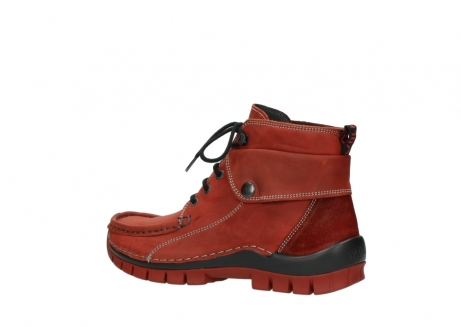 wolky bottines a lacets 04725 jump winter 50540 cuir rouge hiver_3