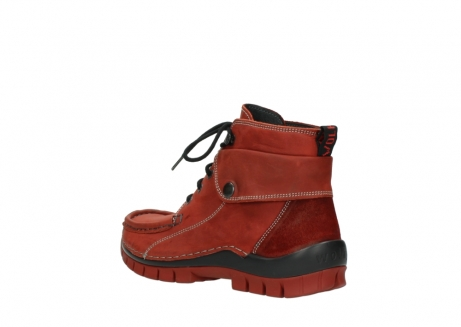 wolky bottines a lacets 04725 jump winter 50540 cuir rouge hiver_4