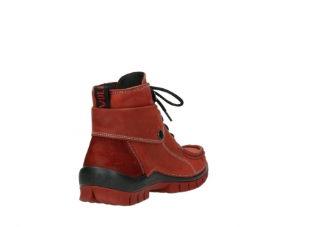 wolky lace up boots 04725 jump winter 50540 winter red oiled leather_9