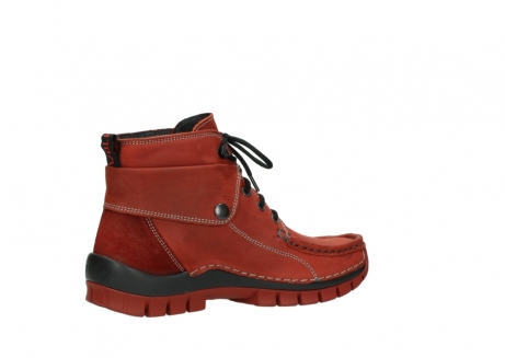 wolky bottines a lacets 04725 jump winter 50540 cuir rouge hiver_11