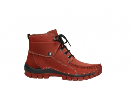 wolky lace up boots 04725 jump winter 50540 winter red oiled leather_14