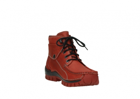 wolky lace up boots 04725 jump winter 50540 winter red oiled leather_17