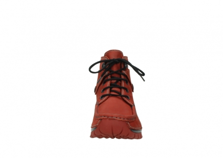 wolky lace up boots 04725 jump winter 50540 winter red oiled leather_19