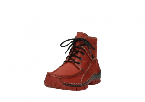 wolky bottines a lacets 04725 jump winter 50540 cuir rouge hiver_21