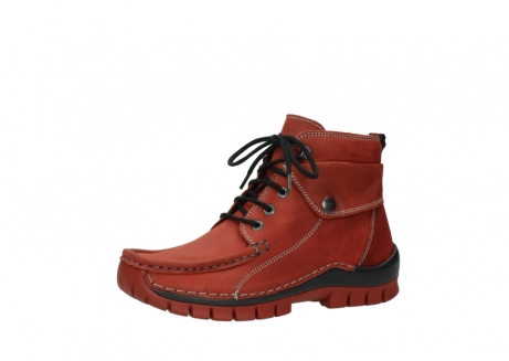 wolky lace up boots 04725 jump winter 50540 winter red oiled leather_23