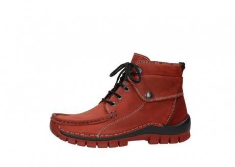 wolky bottines a lacets 04725 jump winter 50540 cuir rouge hiver_24