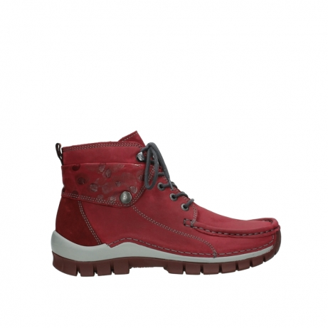 wolky lace up boots 04725 jump winter 59530 oxblood leather