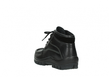 wolky lace up boots 04728 cross winter 30000 black leather_5