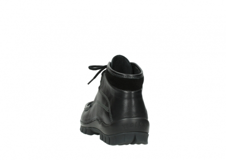 wolky lace up boots 04728 cross winter 30000 black leather_6