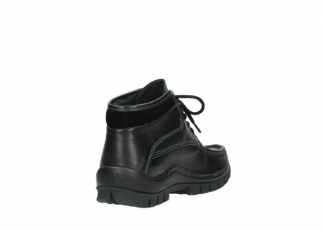 wolky lace up boots 04728 cross winter 30000 black leather_9