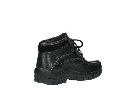 wolky lace up boots 04728 cross winter 30000 black leather_10