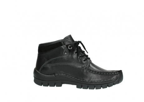 wolky lace up boots 04728 cross winter 30000 black leather_14