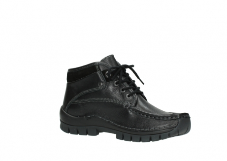 wolky bottines a lacets 04728 cross winter 30000 cuir noir_15
