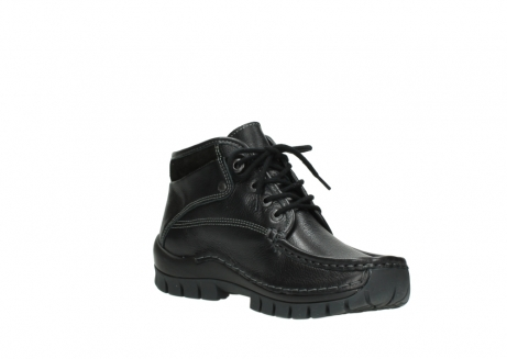 wolky lace up boots 04728 cross winter 30000 black leather_16