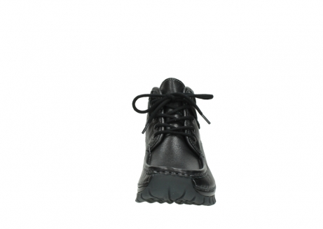 wolky lace up boots 04728 cross winter 30000 black leather_19