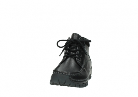 wolky lace up boots 04728 cross winter 30000 black leather_20
