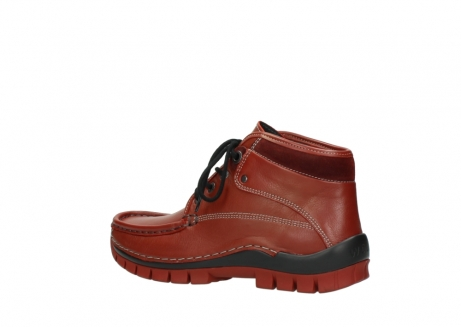 wolky bottines a lacets 04728 cross winter 30540 cuir rouge hiver_3