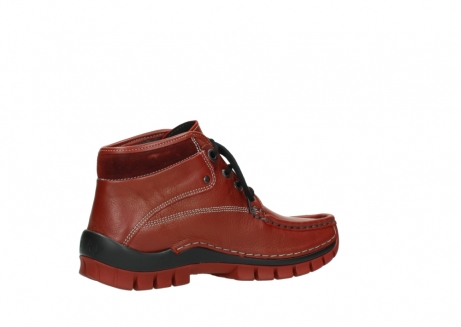 wolky bottines a lacets 04728 cross winter 30540 cuir rouge hiver_11