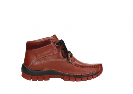 wolky bottines a lacets 04728 cross winter 30540 cuir rouge hiver_13