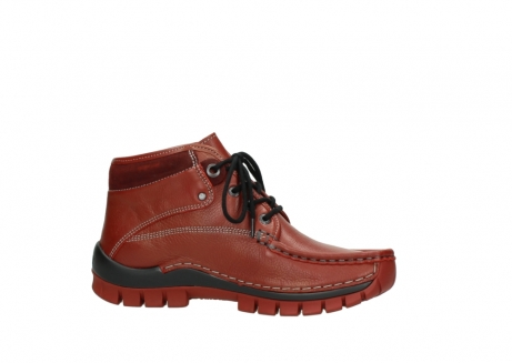 wolky bottines a lacets 04728 cross winter 30540 cuir rouge hiver_14