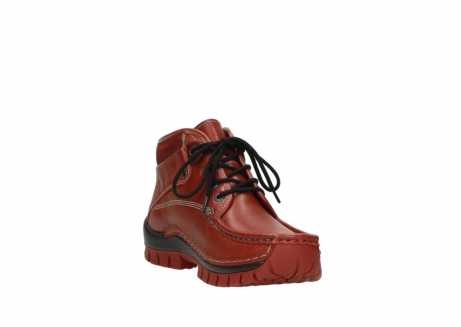 wolky lace up boots 04728 cross winter 30540 winter red leather_17