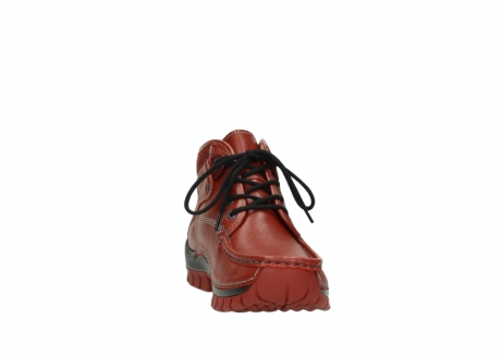 wolky bottines a lacets 04728 cross winter 30540 cuir rouge hiver_18
