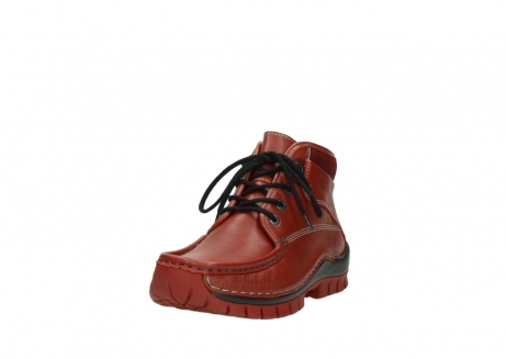 wolky bottines a lacets 04728 cross winter 30540 cuir rouge hiver_21