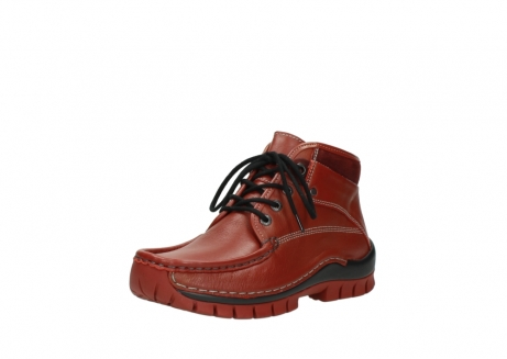 wolky lace up boots 04728 cross winter 30540 winter red leather_22