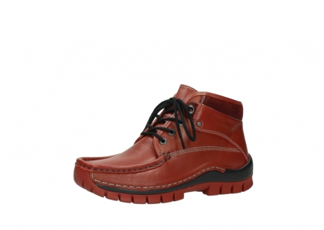 wolky bottines a lacets 04728 cross winter 30540 cuir rouge hiver_23