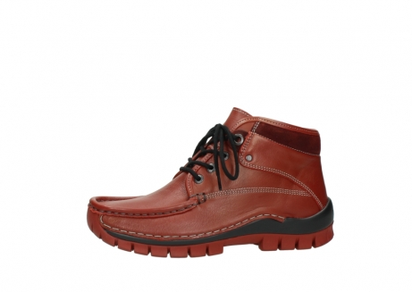 wolky bottines a lacets 04728 cross winter 30540 cuir rouge hiver_24