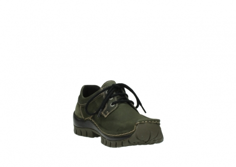 wolky lace up shoes 04734 seamy fly winter 11732 forestgreen oiled nubuck_17