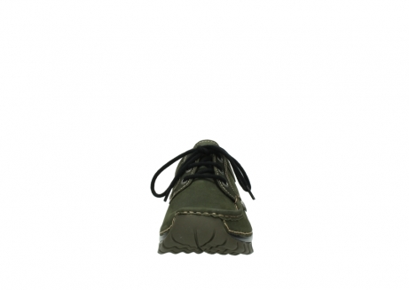 wolky lace up shoes 04734 seamy fly winter 11732 forestgreen oiled nubuck_19
