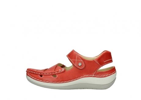 wolky sandalen 04801 venture 30570 red leather_1