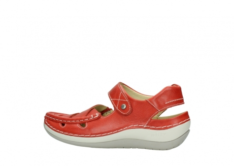 wolky sandalen 04801 venture 30570 red leather_2