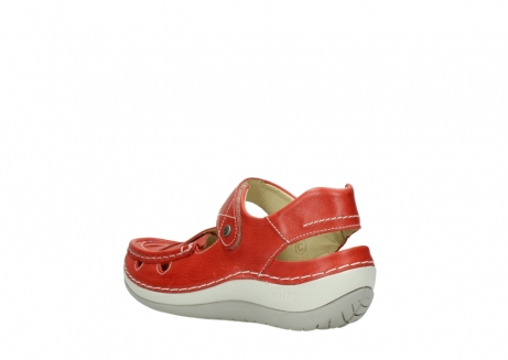 wolky sandalen 04801 venture 30570 red leather_4
