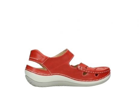 wolky sandalen 04801 venture 30570 red leather_12