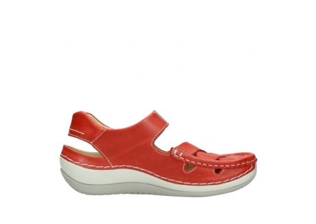 wolky sandalen 04801 venture 30570 red leather_13