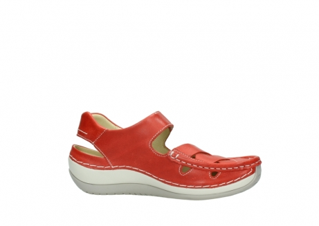 wolky sandalen 04801 venture 30570 red leather_14