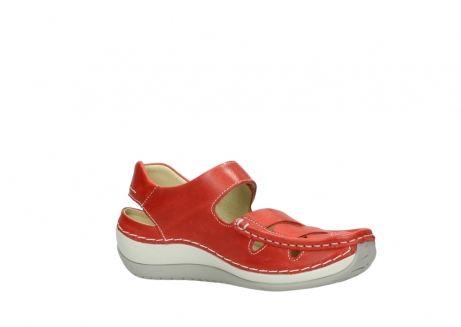 wolky sandalen 04801 venture 30570 red leather_15