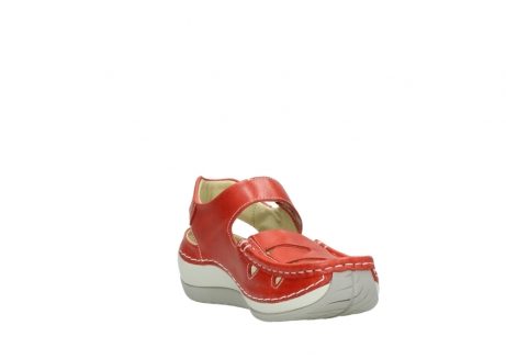 wolky sandalen 04801 venture 30570 red leather_17