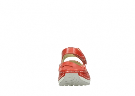 wolky sandalen 04801 venture 30570 red leather_19
