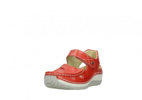 wolky sandalen 04801 venture 30570 red leather_21