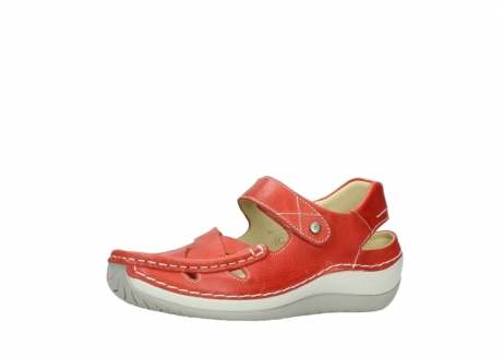 wolky sandalen 04801 venture 30570 red leather_23