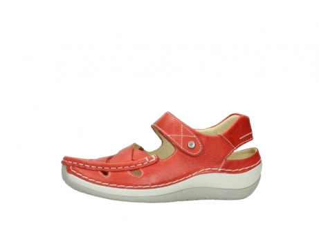 wolky sandalen 04801 venture 30570 red leather_24