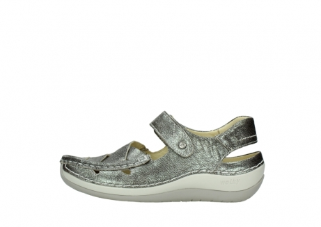 wolky sandalen 04801 venture 93200 grey leather_1