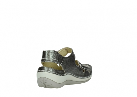 wolky sandalen 04801 venture 93200 grey leather_9